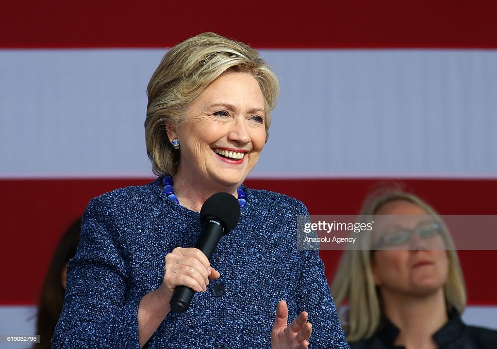 Election campaign of Hillary Clinton in Iowa  : News Photo