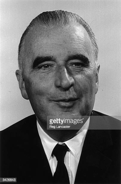Candidate for the French presidency Georges Pompidou