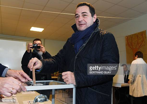 Candidate for the rightwing party primaries ahead of the 2017 presidential election and head of the French Christian democratic party JeanFrederic...