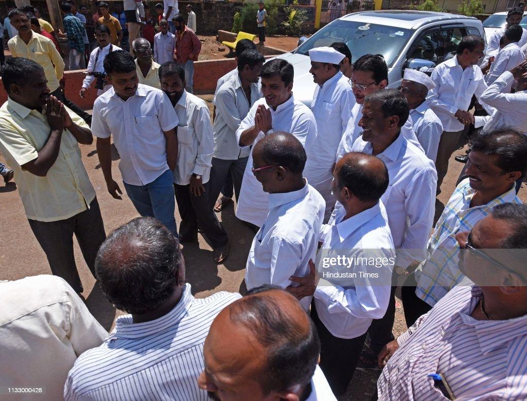 IND: NCP Candidate From Kohlapur Lok Sabha Dhananjay Mahadik Election Campaign