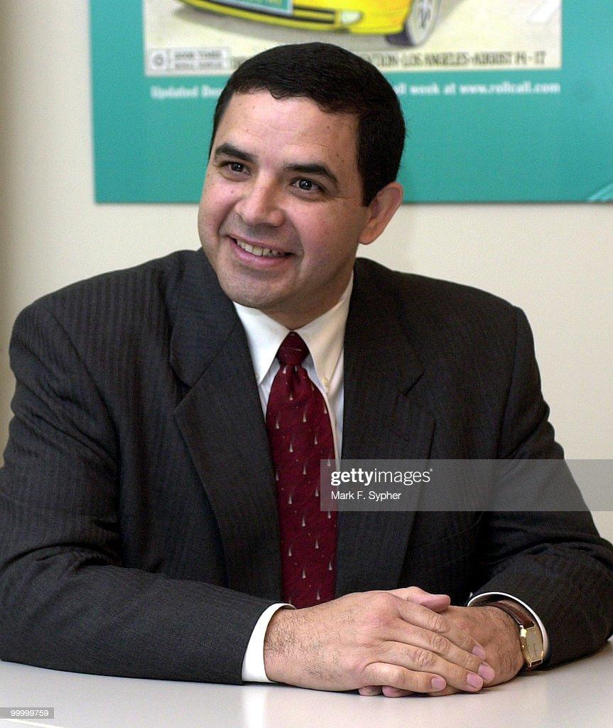 Candidate Henry Cuellar