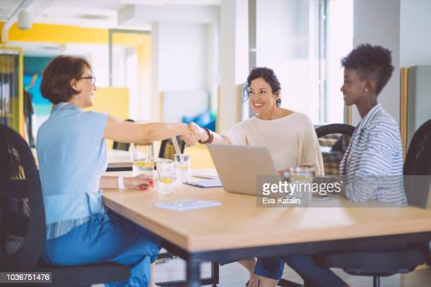 candidate is having a conversation at a job interview - human resources stock pictures, royalty-free photos & images