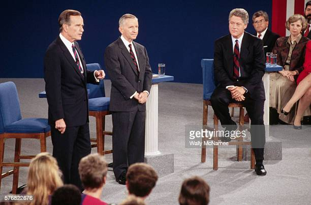 Candidates at the Presidential Debate