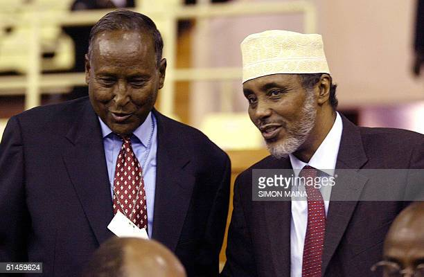 Candidates for the post of Somali president Abdullahi Yusuf Ahmed current president of the semiautonomous northeastern region of Puntland and current...
