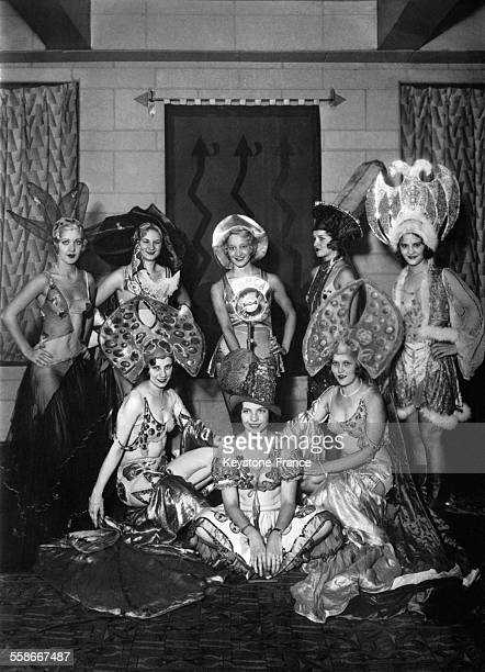 Candidates à la 'Reine du Radio' concours organisé par la WMCA le 24 septembre 1931 à New York City NY