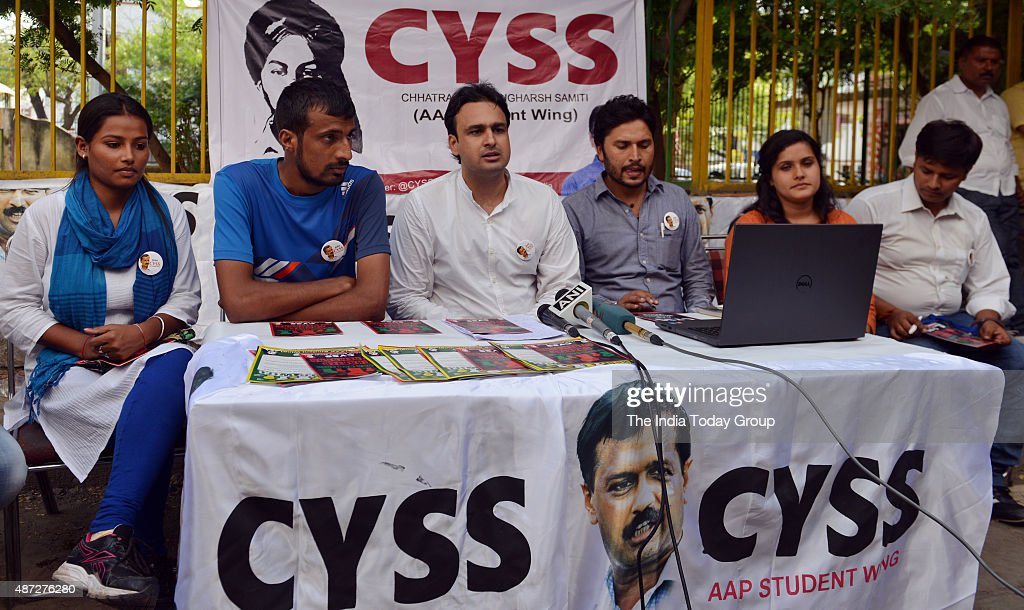Delhi University Student's Union(DUSU) elections : News Photo
