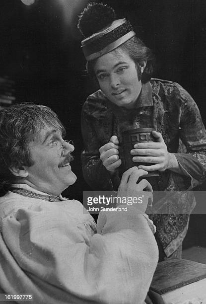 OCT 1976 NOV 4 1976 NOV 5 1976 'Candide' Held Over At Bonfils It's so early in the morning says the Chinese footman as he offers a hot beverage to...