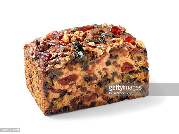 candied christmas fruit cake - fruit cake stock pictures, royalty-free photos & images