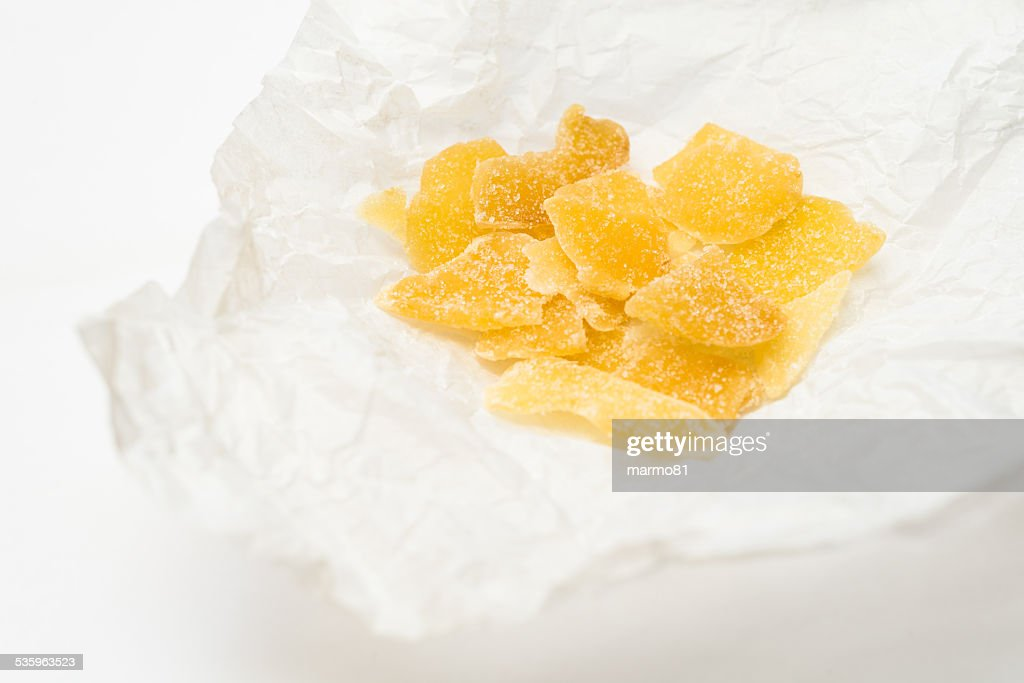 Candied Ginger : Stock Photo
