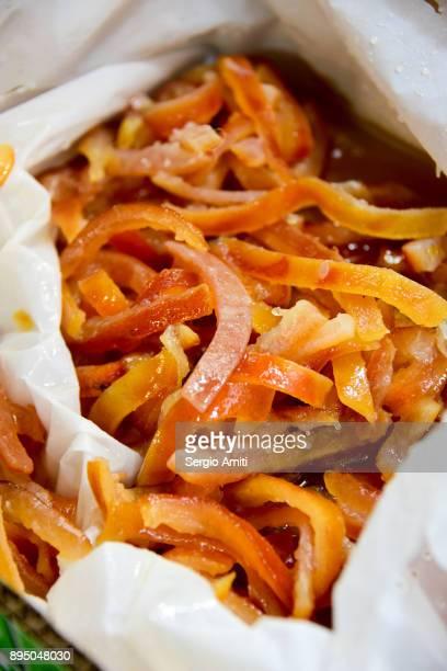 Candied orange peel