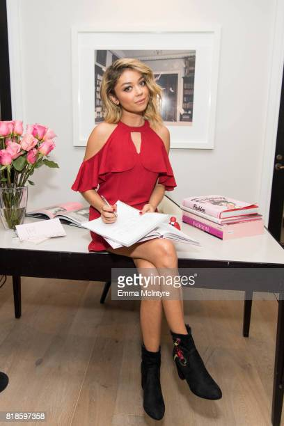 Candie's Creative Director Sarah Hyland shares her backtoschool campaign and collection at The London Hotel on July 17 2017 in West Hollywood...