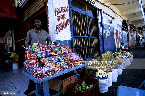 Candies seller in Colon Panama