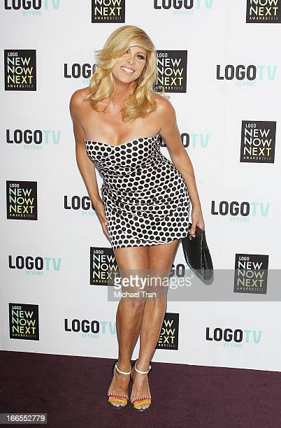 Candis Cayne arrives at the Logo NewNowNext Awards 2013 held at The Fonda Theatre on April 13 2013 in Los Angeles California