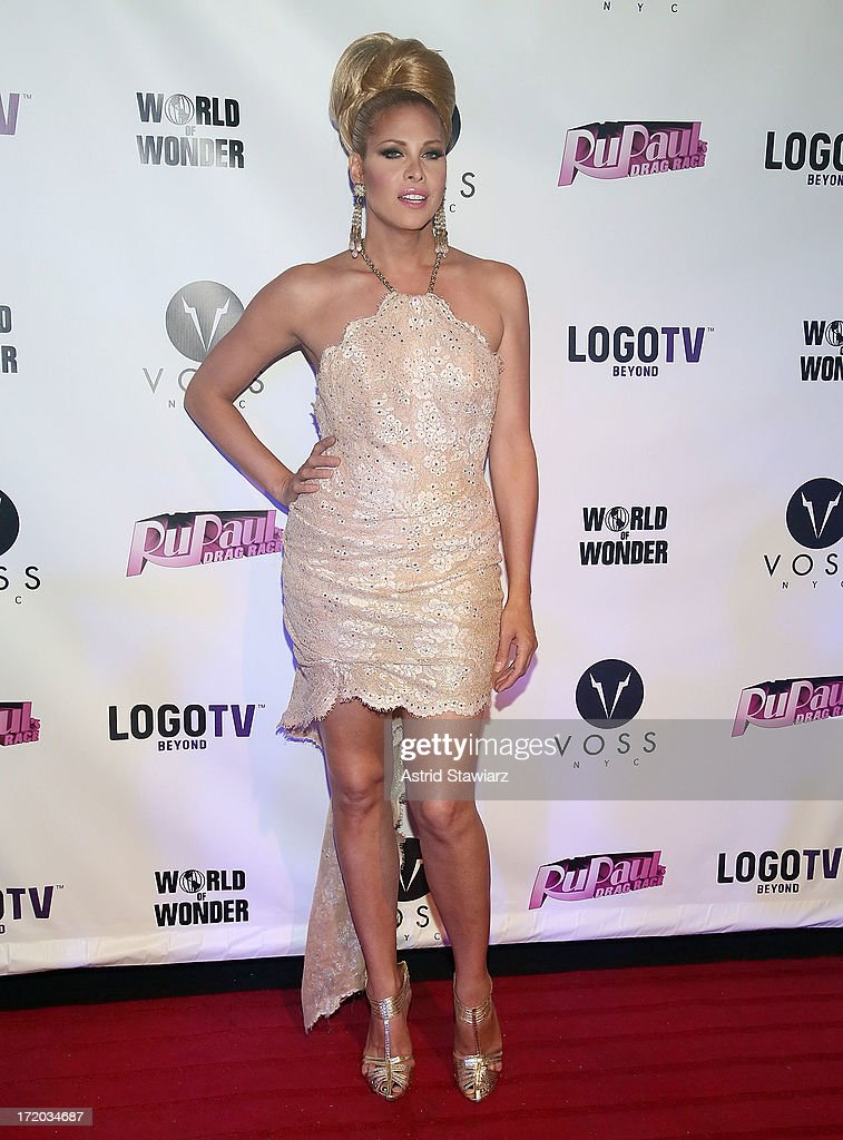 Candis Cayne attends Logo TV's Official Pride NYC 2013 Event at Highline Ballroom on June 30, 2013 in New York City.