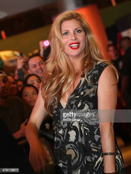 Candis Cayne visits An American in Paris on Broadway at The Palace Theater on June 30 2015 in New York City