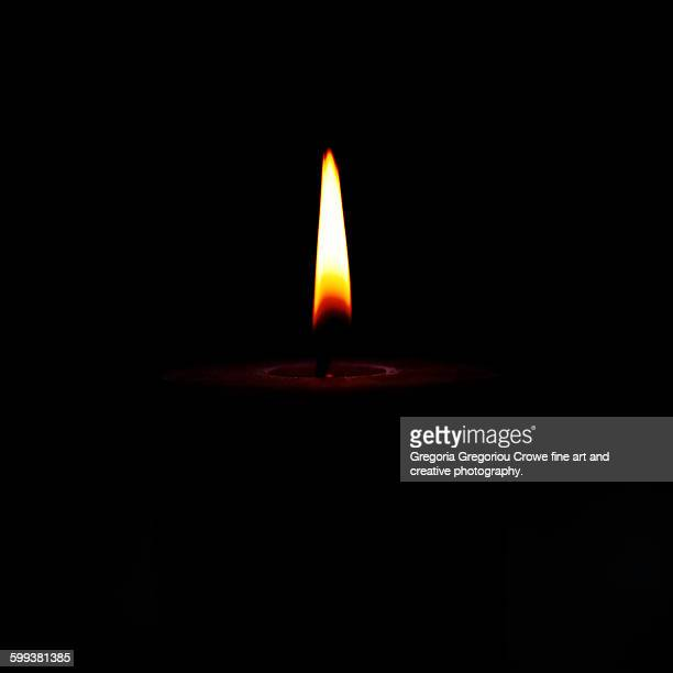 candle flame close-up - gregoria gregoriou crowe fine art and creative photography stock photos and pictures
