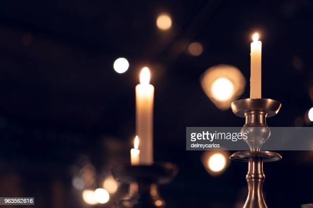 candle light - candlestick holder stock pictures, royalty-free photos & images