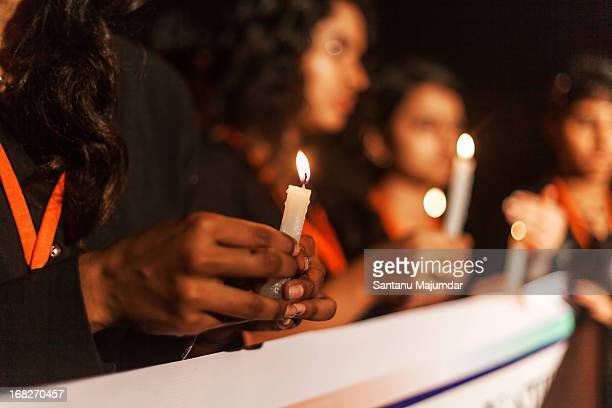 candle march - freedom park - social justice concept stock pictures, royalty-free photos & images