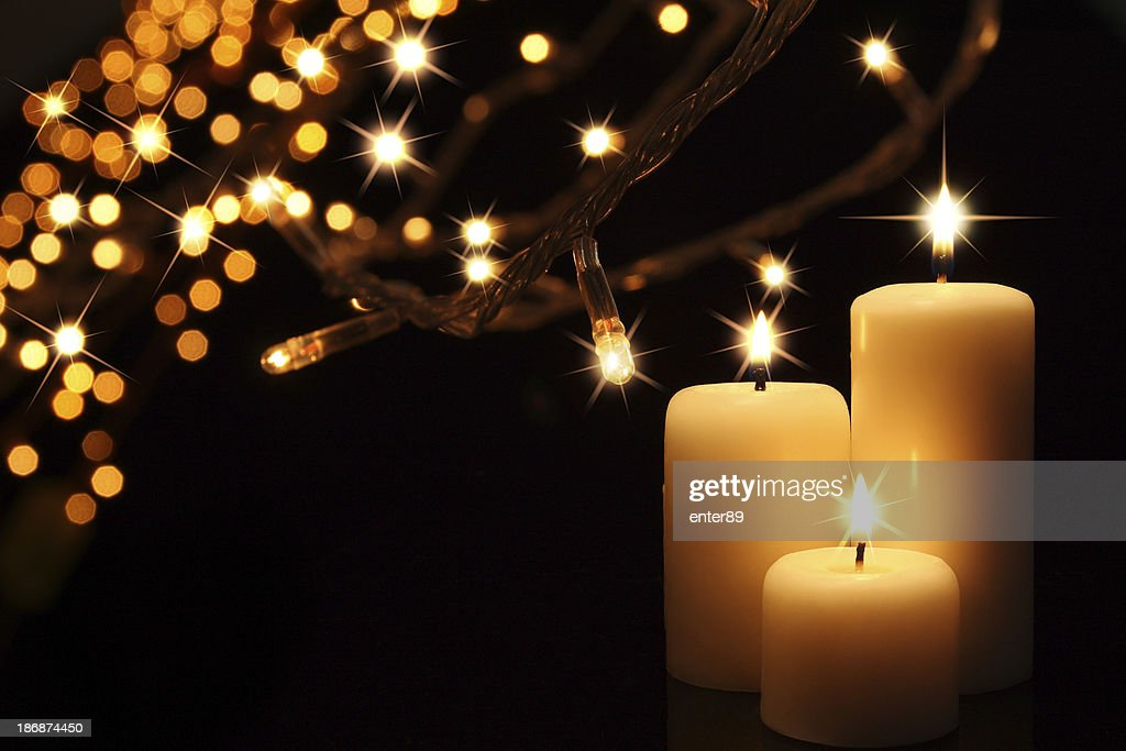 Candle : Stock Photo