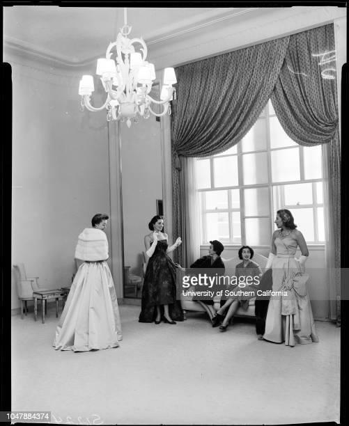 Candlelight Ball planned by Juniors of Social Service Auxiliary 6 November 1957 Mrs Sven W LokrantzMrs Thomas F RafaelMrs Terry MullinMrs John B...