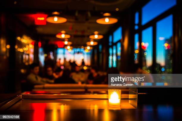 candlelight - restaurant stock pictures, royalty-free photos & images