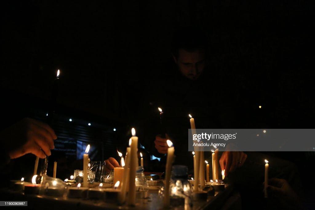 Vigil turned into anti-govt protest in Tehran : News Photo