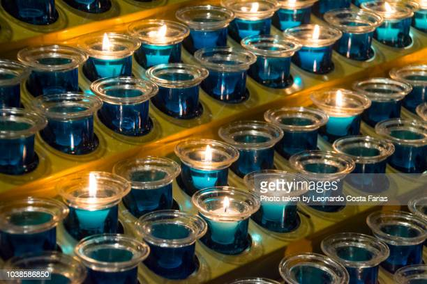 Candles at St. Patrick's Cathedral