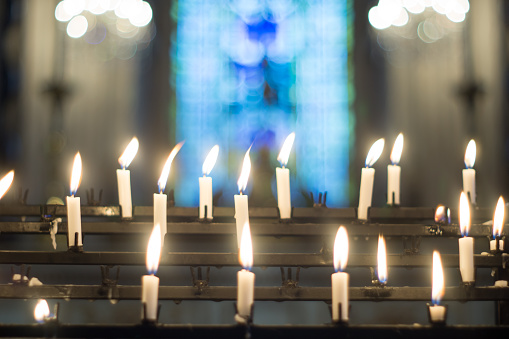 Candles For Prayers - gettyimageskorea