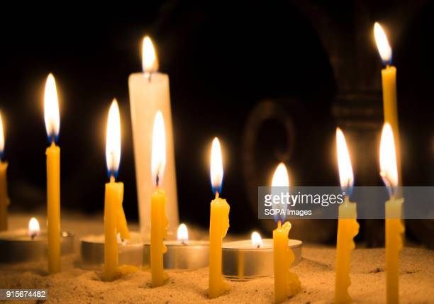 Candles in the temple In the Cathedral of St Alexander of Kiev the celebration of St Maron's Day was held Maron was a 4thcentury Christian monk in...
