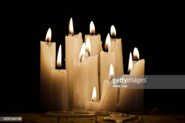 candles - national holiday stock pictures, royalty-free photos & images