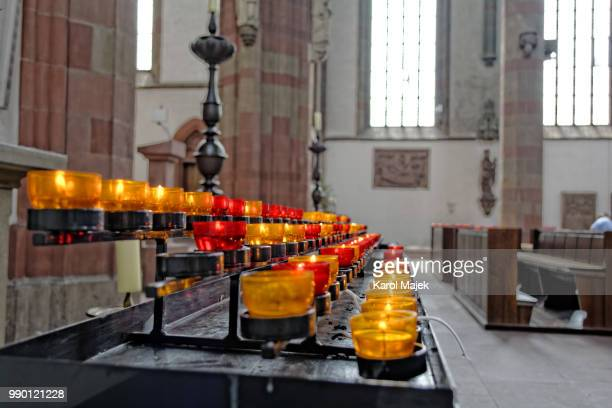candles - cathedral stock pictures, royalty-free photos & images