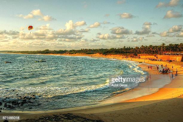 Candolim Beach in Goa.