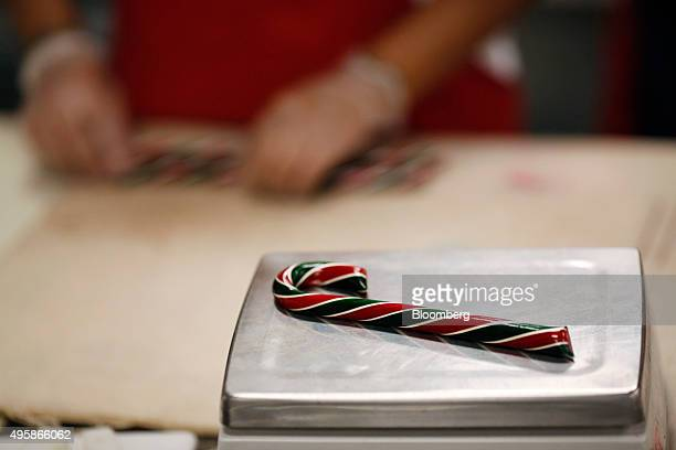 34 Candy Cane Production Inside The Hammonds Candies Facility As The