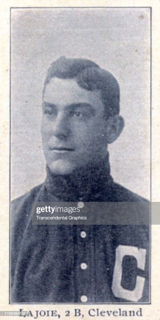 Candy Card Of American Baseball Player Napoleon Nap Lajoie