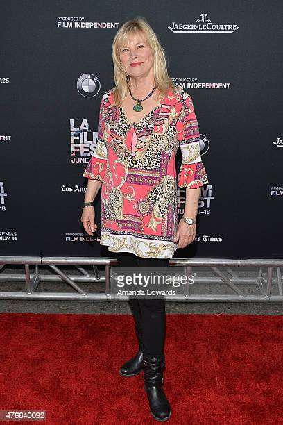 Candy Clark attends the opening night premiere of 'Grandma' during the 2015 Los Angeles Film Festival at Regal Cinemas LA Live on June 10 2015 in Los...