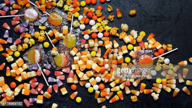 Candy Corn photographed in Washington DC on October 9 2018