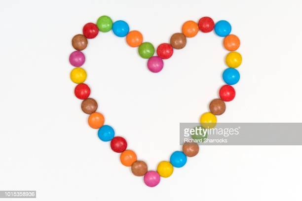 candy heart - candy heart stock pictures, royalty-free photos & images