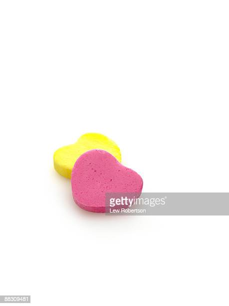 candy hearts - candy heart stock pictures, royalty-free photos & images