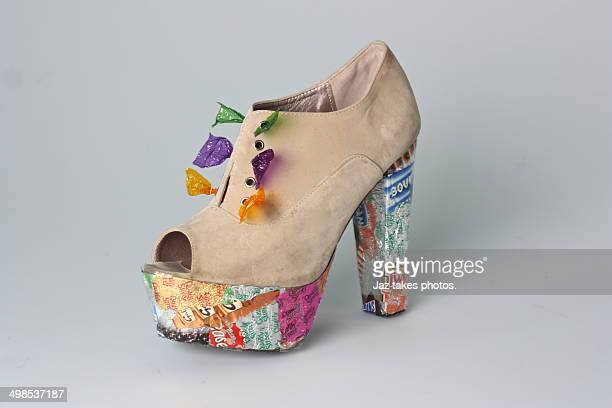 candy heels - ashford kent stock photos and pictures