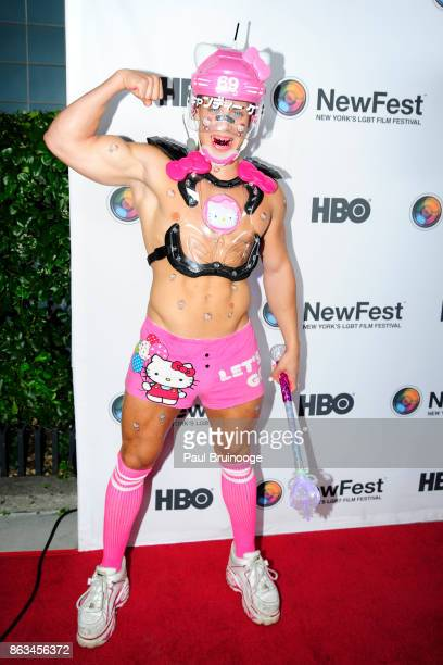 Candy Ken attends NewFest 2017 Opening Night Susanne Bartsch On Top at SVA Theatre on October 19 2017 in New York City