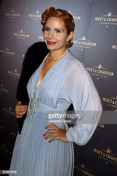 Candy Kern attends the 'Fabulous Celebration' at Nymphenburg Castle on September 18 2008 in Munich Germany French champagne producer Moet Chandon was...