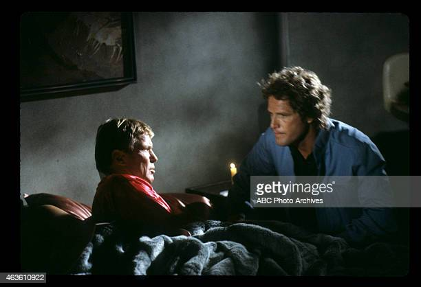 """Candy Kisses / Operation Break Out"""" - Airdate: January 15, 1983. L-R: RICHARD JAECKEL;BEN MURPHY"""