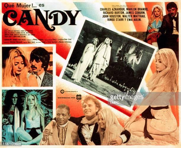 Candy poster Ewa Aulin Ringo Starr Marlon Brando Richard Burton John Astin 1968