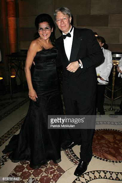 Candy Pratts Price and Julian Zugazagoitia attend EL MUSEO'S GALA 2007 A MASKED BALL at Cipriani's 42nd St on May 24 2007 in New York City