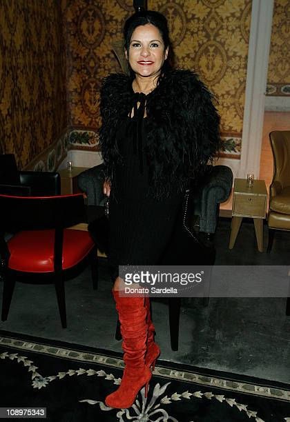Candy Pratts Price Executive Fashion Director Stylecom inside the Saks Fifth Avenue Stylecom host Christian Louboutin for intimate cocktail party at...