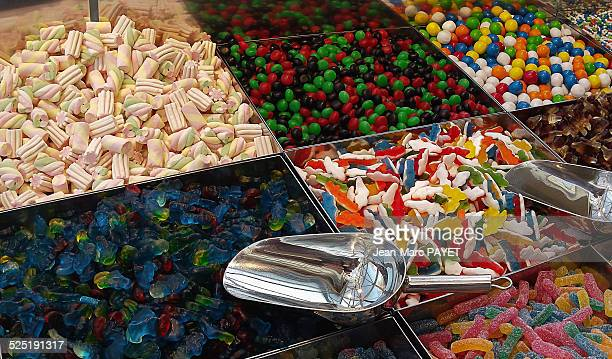 candy self service - jean marc payet stockfoto's en -beelden