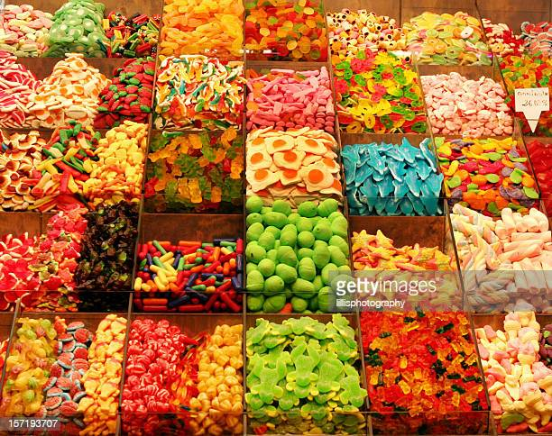 Candy Shop in Barcelona Spain