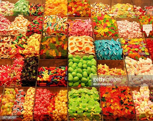 Candy Shop in Barcelona, Spanien