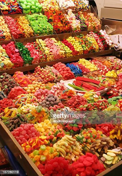 Candy Shop Sweets Display Barcelona