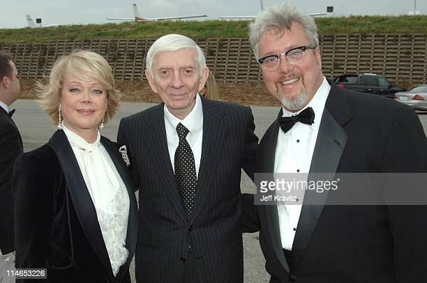 Candy Spelling Aaron Spelling and Larry Jones executive vice president/general manager of TV Land